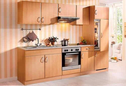 Küchenzeile mit E-Geräten »Prag«, Breite 270 cm