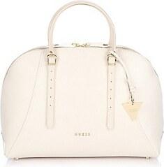 a05e857dff Guess Kožená kabelka Lady Luxe Leather Dome Sacthel Bag béžová ...
