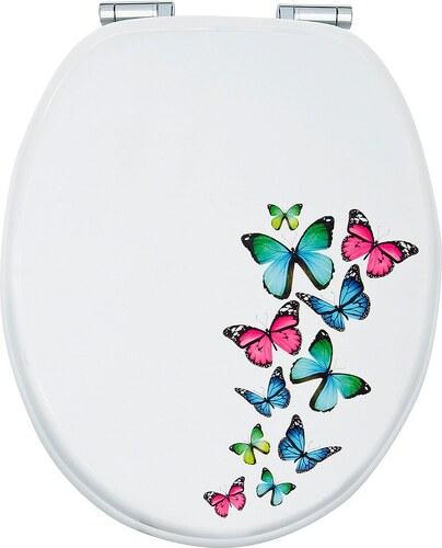 WC-Sitz »Schmetterling«, Mit Absenkautomatik