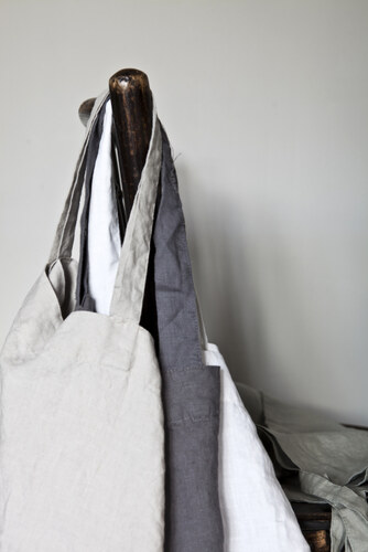 praktická lněná taška MORE/více barev