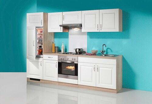 Küchenzeile »Tilda«, mit Elektrogeräte - mit Glaskeramik-Kochfeld, Breite 270 cm
