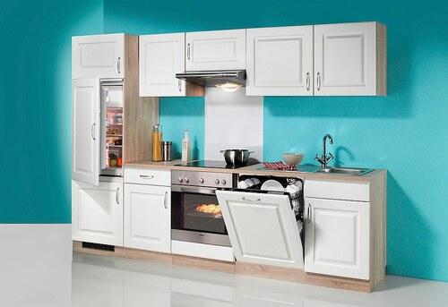 Küchenzeile »Tilda«, inkl. Elektrogeräte - mit Geschirrspüler, Breite 280 cm