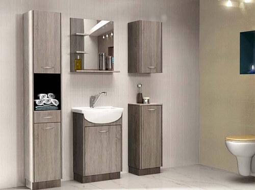 SET č. 03 - 6 dílná koupelnová nábytková sestava