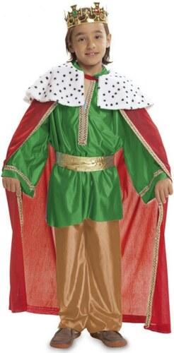 Dětský kostým Tři králové zelený Pro věk (roků) 1-2