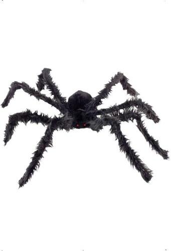 Chlupatý pavouk 102 cm svítící oči
