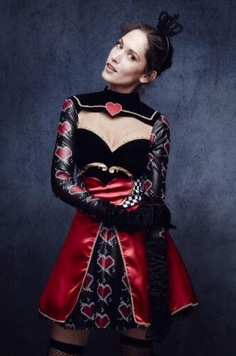 Kostým Sexy královna srdcí Velikost L 44-46