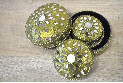 Šperkovnice 3 dílný set NABOXG