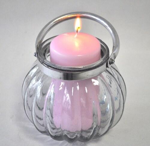 Skleněný svíce - dýně JOWACHB