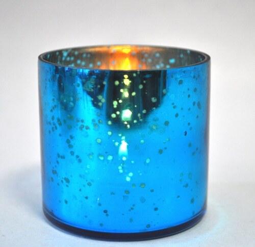 Skleněný svícen - Sky blue JOWACHS