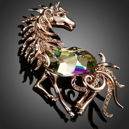 Brož Swarovski Elements Cavallo BRZ00012