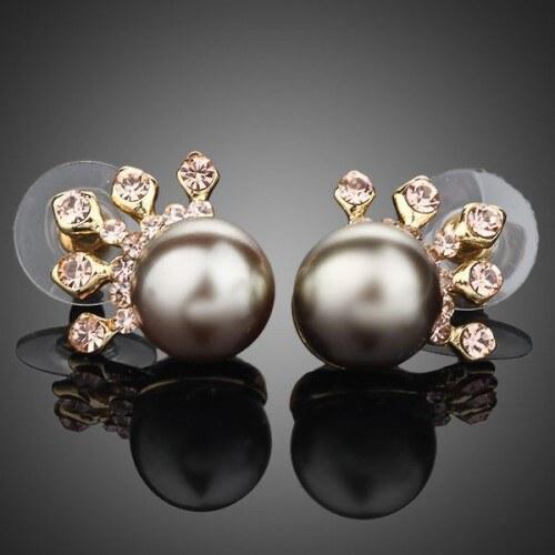 Náušnice s perlou Alonza NAUSW0017