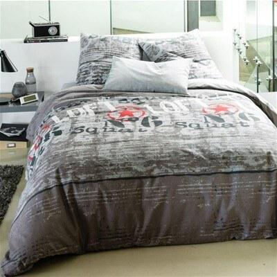 la maison de domitille linge de lit Maison de Domitille Loft   Parure housse de couette et 1 taie d  la maison de domitille linge de lit