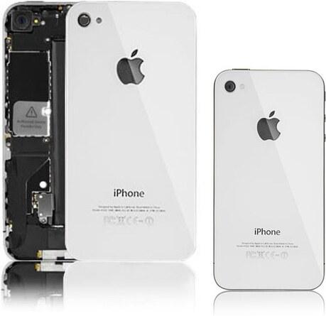 Kryt Apple iPhone 4 4s zadní bílý