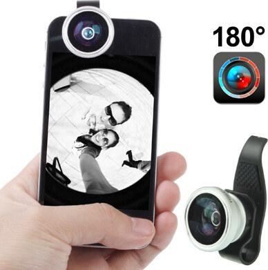 iPouzdro.cz objektiv pro iphone rybí oko