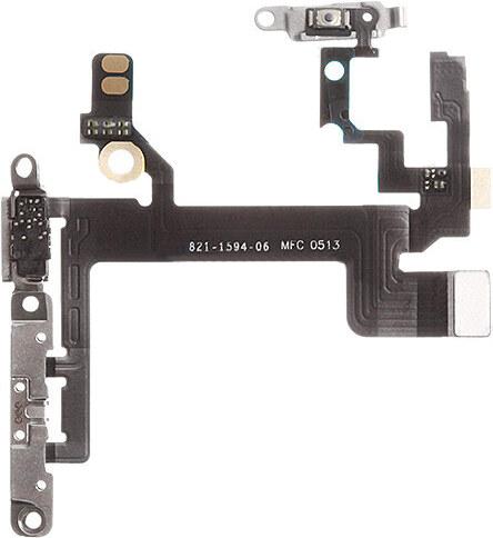 iPouzdro.cz Obvod tlačítka Power, tlačítek hlasitosti a přepínač tichého režimu pro iPhone 5S - osazený díl - DOPRODEJ