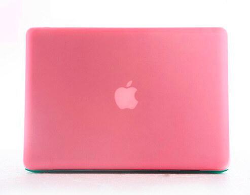 iPouzdro.cz Polykarbonátové pouzdro / kryt na MacBook Pro 15 - matný růžový