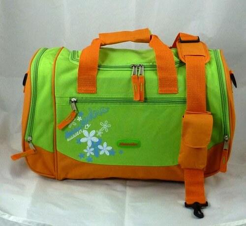 Taška dětská oranž/zelená