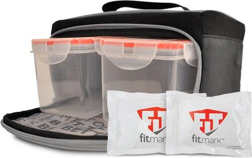 Fitmark Stylová termo taška na jídlo the BOX SM v černé barvě - Glami.cz b54a98fa860