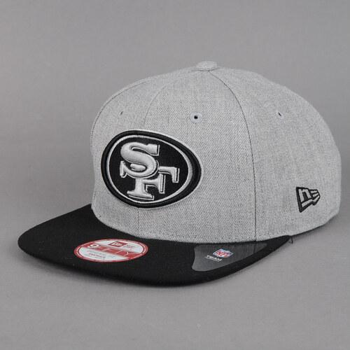 New Era Seasonal Heath SF 49ers melange šedá   černá - Glami.cz c83a4367af