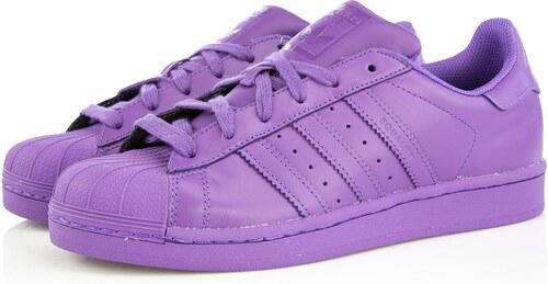 adidas Originals Adidas Originals x Pharrell Superstar SUPERCOLOR Ray Purple 2e6bba51d2
