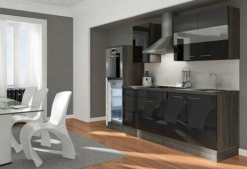 Küchenzeile mit E-Geräten »Premium«, Breite 270 cm