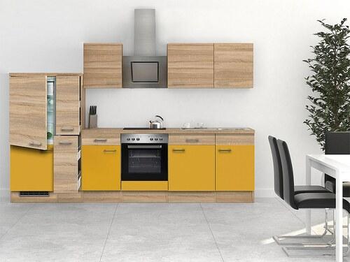 Küchenzeile mit E-Geräten »Rio«, Breite 310 cm, inkl. 2. Frontensatz gratis dazu
