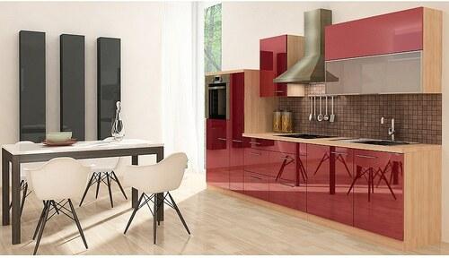 Küchenzeile mit E-Geräten »Premium«, Breite 310 cm
