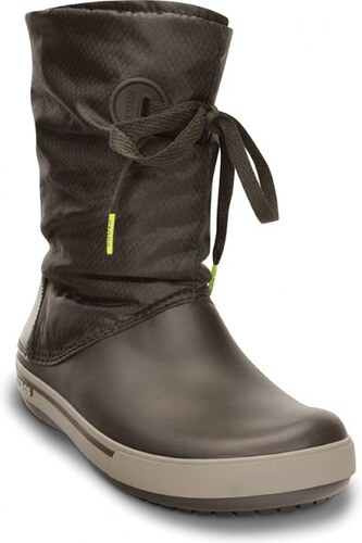 Crocs Crocband Lace Boot Espresso Mushroom W10 - Glami.cz 836dad1140