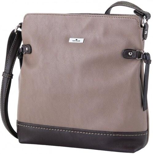 Tom Tailor dámská kabelka Leslie se zdobením po stranách hnědá ... b41485154bd