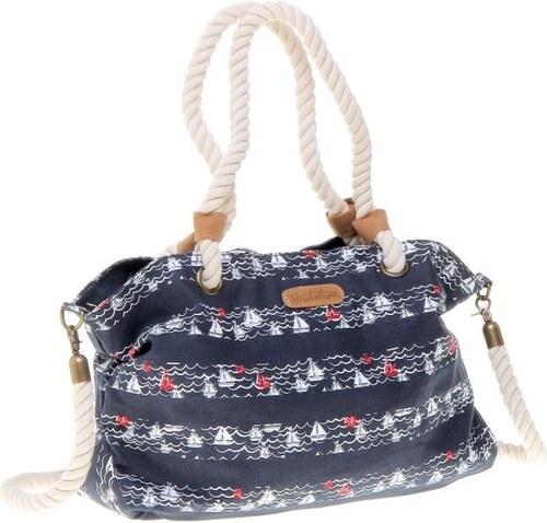 Brakeburn tmavě modrá dámská kabelka s variantním nošením - Glami.cz cc27d855a3b