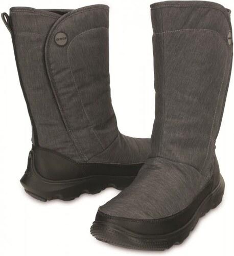Crocs Duet Busy Day Boot Women Black Black W11 (42 01fdf9935d