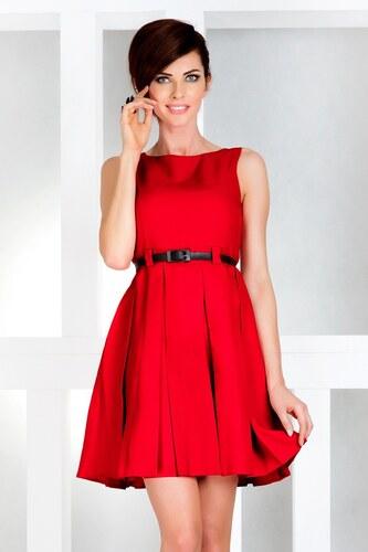 196a62dbd1fb NUMOCO šaty dámské 6-11 s páskem - Glami.cz