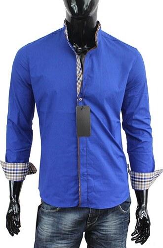 CARISMA košile pánská 8070 dlouhý rukáv slim fit modrá - Glami.cz 33d8dfcdf9