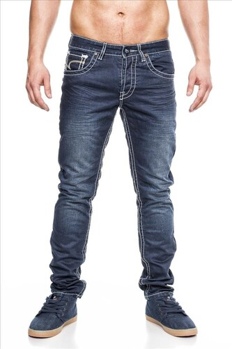 JEANSNET kalhoty pánské OneP-003 slim fit - Glami.cz eae475b9ab