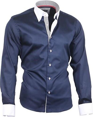 2bb8c0e860ff BINDER DE LUXE košile pánská luxusní 80804 satén - Glami.cz