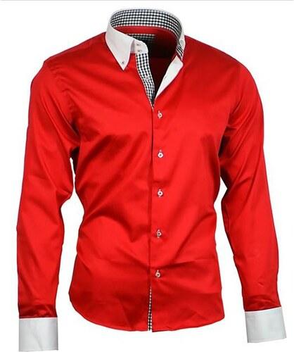 786cf133e4f1 BINDER DE LUXE košile pánská luxusní 80805 satén - Glami.cz
