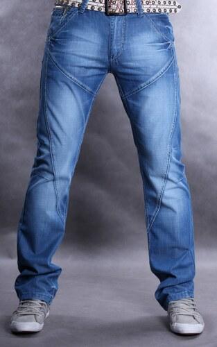 C-IN-C pánské kalhoty X2331 jenas džíny šikmé švy - Glami.cz 2361af89bc