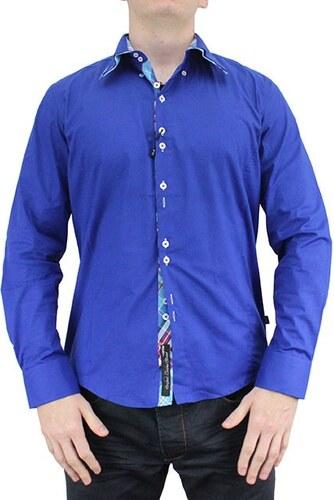 CARISMA košile pánská H-110 dlouhý rukáv slim fit modrá - Glami.cz aac8ba581f