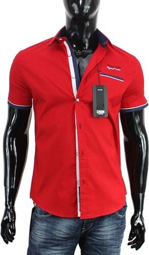 CARISMA košile pánská 9026 krátký rukáv slim fit - Glami.cz d5cb1e2b94