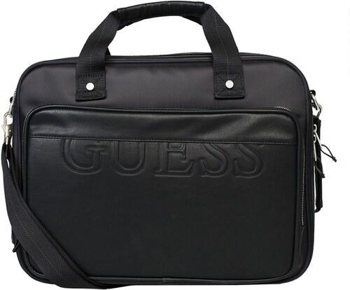 Guess Jeans - Taška na notebook - černá - Glami.cz 18fcb07df87