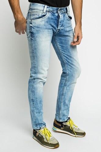 Pepe Jeans - Džíny Spike - modrá - Glami.cz 7f57e3e5eb