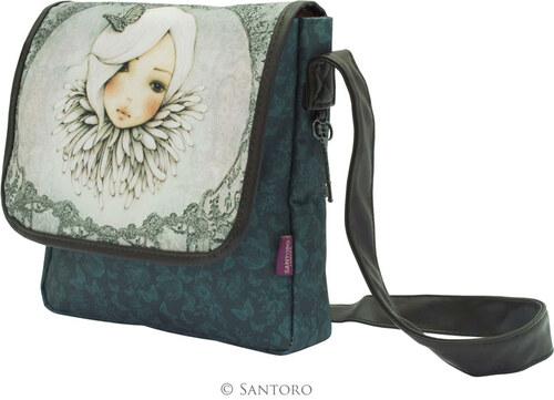 b4e743b63b Santoro London - Mirabelle - Malá taška cez plece - Augustine Bielo-šedivá
