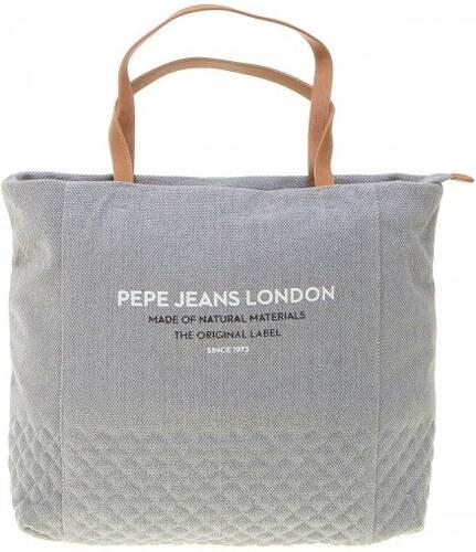 Pepe Jeans dámská prošívaná kabelka Uma šedá - Glami.cz c2d11cd07d4