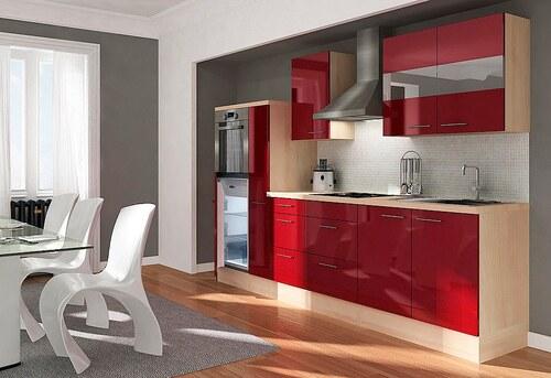 Küchenzeile mit E-Geräten »Premium«, Breite 300 cm