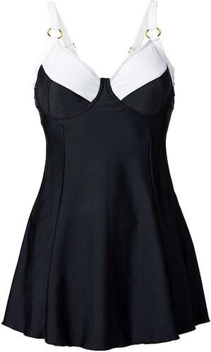 28380603928c bpc selection Plavkové šaty s kosticemi bonprix - Glami.cz