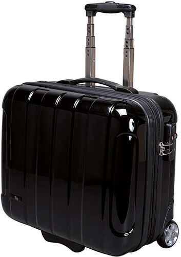 JSA® Businesstrolley mit 2 Rollen und Laptopfach