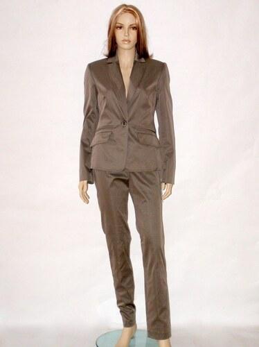 Béžový kalhotový kostým 1314 Andrea Martiny 40 - Glami.cz 2168bd601b