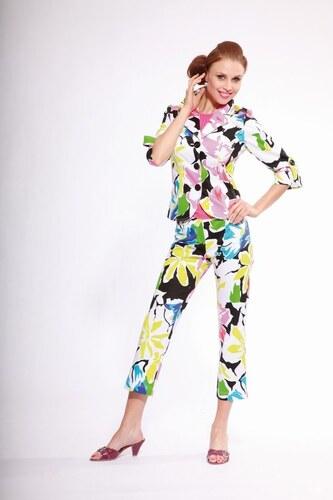Dámský kalhotový kostým Andrea Martiny letní 36 - Glami.cz eed74b718d