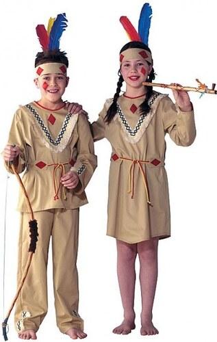 Indiánka - kostým - 104