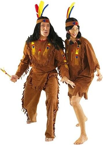 Indiánka - kostým - 36